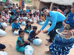 CFCII India Food Drive