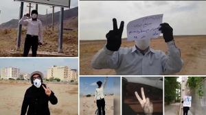 MEK supporters and Resistance Units express their solidarity with the Free Iran Global Summit- July 2020