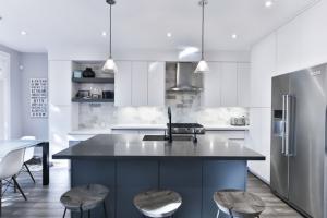 Dark color palette - kitchen remodel ideas
