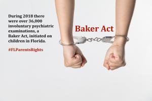 The fundamental right of a parent to help their child is being ignored despite the fact that there is an existing provision for the parent to be given an opportunity to help their child as part of the Baker Act law.