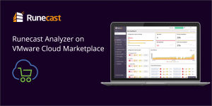 Runecast Analyzer provides customers with proactive, automated insights for log analysis, best-practice configuration, and security compliance in VMware-driven SDDCs.