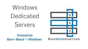 Microsoft Partner Rad Web Hosting Offers Windows Dedicated Servers in HIPAA-Compliant Data Center in Phoenix, AZ