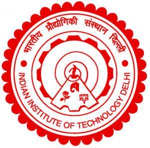 Logo of IIT Dehli (Red Color)