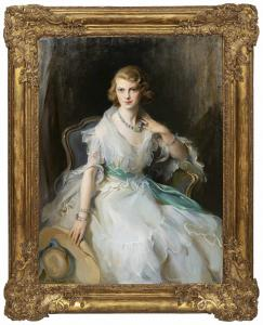 Portrait of Oonagh Guinness (1910-1995), the Anglo-Irish socialite, society hostess and art collector, by Philip de Laszlo (Austro-Hungarian, 1869-1937).