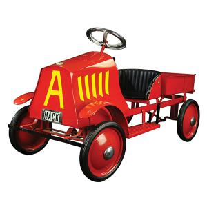 Steelcraft Mack dump truck pedal car, red, contemporary, 44 in., $1,368. Photo: Bertoia Auctions