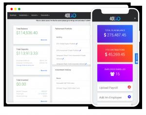 Fintech 401k platform for small businesses