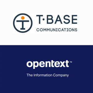 T-Base Communications / OpenText Logos