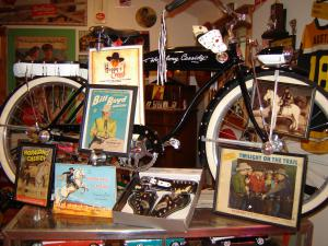 Baby boomers will be treated to many of the items that defined their childhood. What boomer wouldn't want to own a Hopalong Cassidy bicycle or other Hopalong Cassidy collectible?