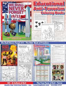 Anti Terror Coloring Books