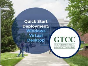 Forsyte I.T. Solutions helps Guilford Technical Community College deploy Windows Virtual Desktop