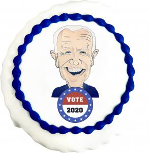 Vote BIDEN Cookie from Three Brothers Bakery's 2020 Presidential Cookie Poll