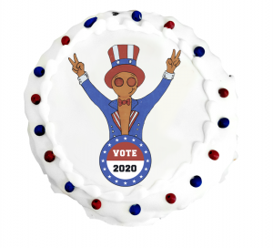 Vote GINGY Cookie from Three Brothers Bakery's 2020 Presidential Cookie Poll