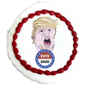 Vote TRUMP Cookie from Three Brothers Bakery's 2020 Presidential Cookie Poll