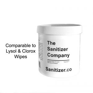 Toprosan™ 75% Alcohol Antiseptic Disinfectant Wipes www.Sanitizer.CO The Sanitizer Company