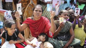 Tamil Families of the disappeared