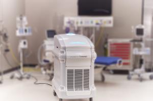 Nevoa's robot, Nimbus, fogs disinfectant into hospital patient rooms to kill life-threatening pathogens such as COVID-19.