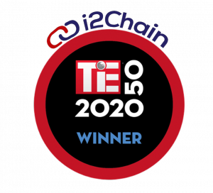 i2Chain cybersecurity startup awarded the global TiE50 Winner at the TieCon 2020, the world's largest conference for tech entrepreneurs.