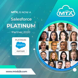 MTX Group Named Salesforce Platinum Partner