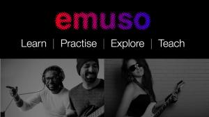 emuso logo with people in the image