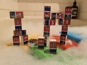 an example of something you can build with Flick Brick