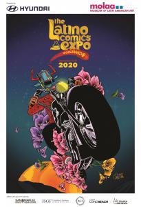 Latino Comics Expo 2020 poster