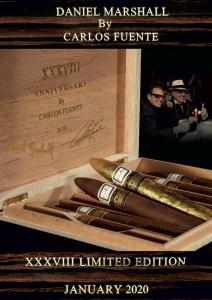 Historic Daniel Marshall x Carlos Fuente XXXVIII Cigar Limited Edition 2020