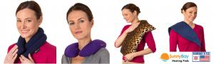 Sunny Bay Microwavable Heating Wraps for Pain Relief