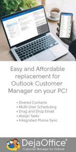 DejaOffice for Outlook