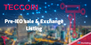 Pre-IEO sale commences as a decentralized peer-to-peer network set to launch on Teccoin