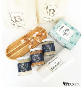 BREADISTA's bread & salt gourmet gift box