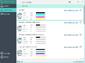 PrintVisor cartridge monitoring