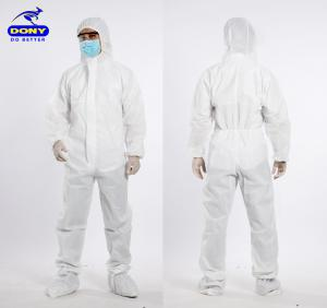 Dony Protective Clothing Coverall (Hooded Suit, shoes cover)