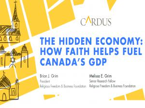 Study: Faith Fuels Canada's GDP