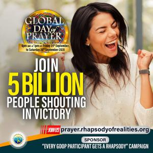 Join 5 Billion People In Prayers