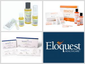 Eloquest Healthcare Logo and Brands