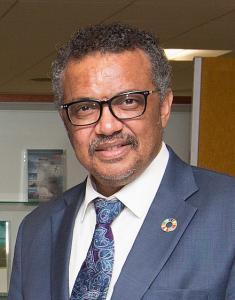 Dr. Tedros Adhanom Ghebreyesus, WHO Chief