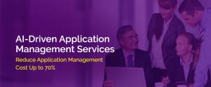 AI driven Application Management Services