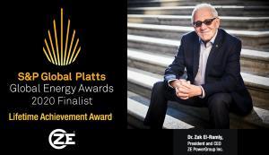 Dr. El-Ramly, Finalist for Platts Global Energy Awards 2020