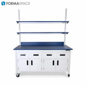 custom mobile lab bench