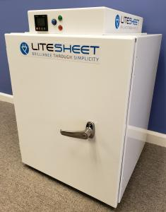 VA Tech testing of LIteSheet UV-C Cabinet shows a 99.95% reduction of the virus that causes Covid19 illness.