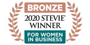 Limina CEO Maria Taylor wins a bronze Stevie® Award in the Female Entrepreneur of the Year category