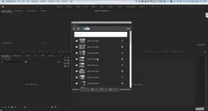 axle ai panel for Adobe Premiere Pro CC