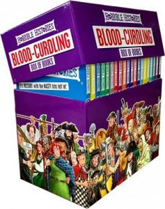 Horrible Histories Books Blood Curdling Collection
