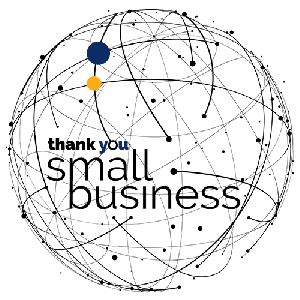 Silver Lining's Global Movement - Thank You Small Business Logo
