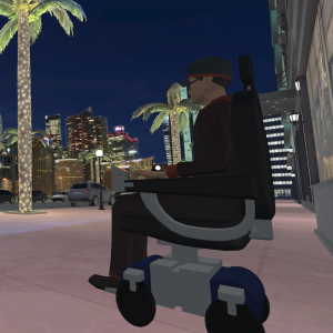 Wheelchair Mobility Experience Icon