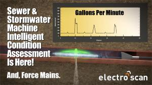Electro Scan represents the only supplier that is able to find & measure leaks in both pressurized and gravity water and sewer pipelines.