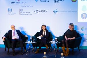 Sustainable Energy Europe Summit Photo of Panel Discussion on Stage