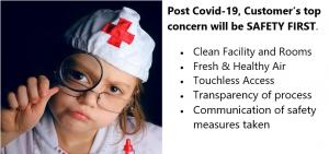 Hotel Guest's Top Concern Post Covid-19 - Personal Safety