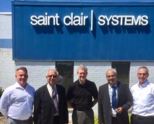 Left to right Ian Porzondek - Business Development; Pratap Puranik - Partner; Mike Bonner - VP of Engineering; Ravi Mahadeokar - Partner; Robert Gladstone - President
