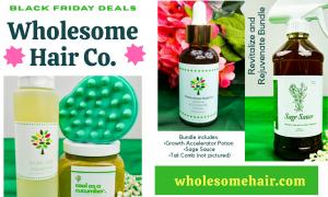 Black Owned Natural Hair Care Deals for Black Friday 2020